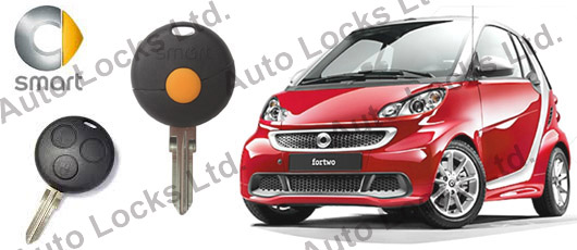 оригинален ключ с дистанционно за СМАТР Smart_fortwo_forfour_remote_key